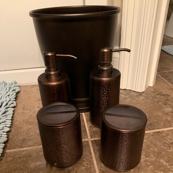 Bath Bronze Bathroom Accessories Poshmark